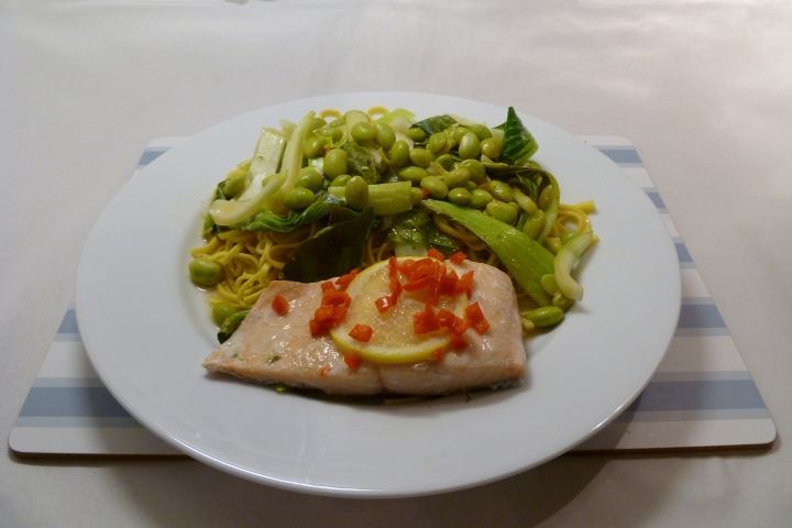 Teriyaki-style Salmon