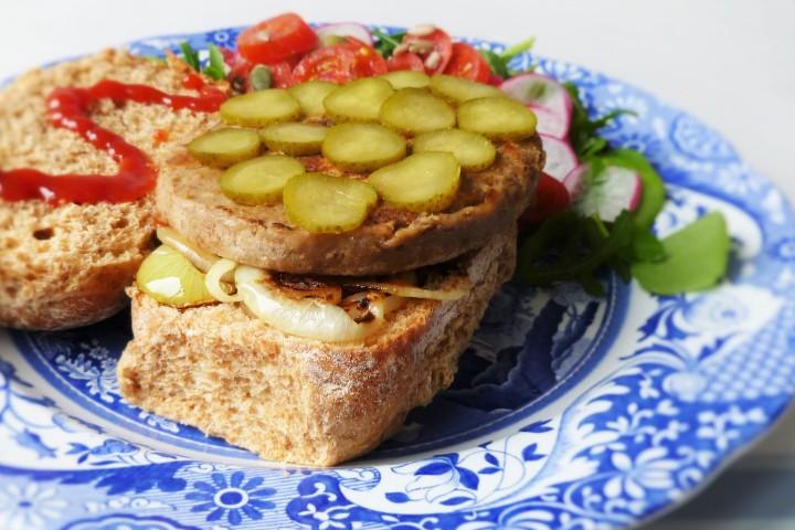 Succulent Veggie Burger